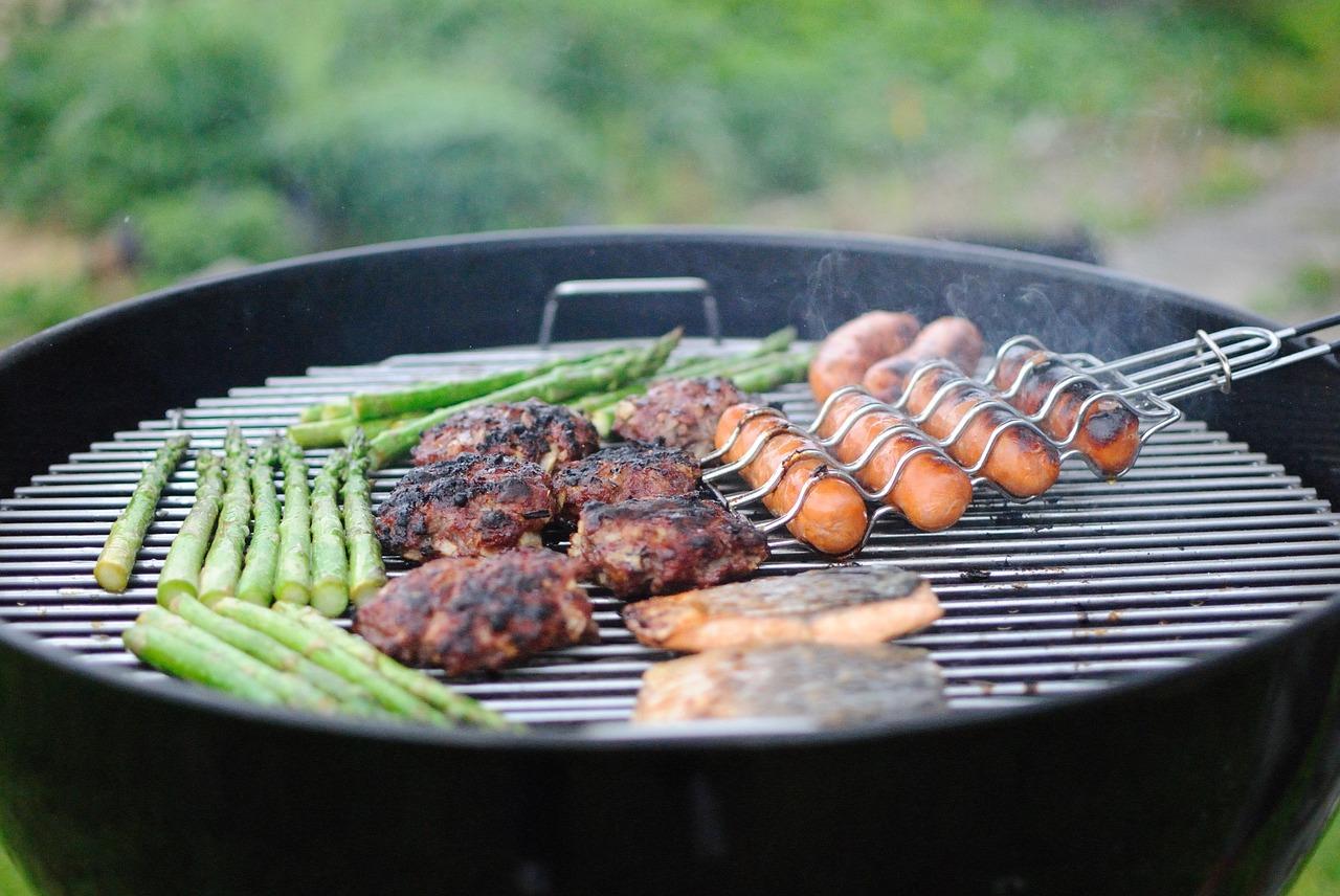 gezellige barbecue